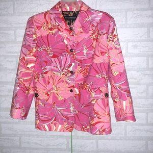 Women's Dolce & Gabanna floral blazer sz 44